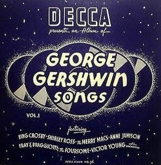 George Gershwin Songs, Vol. 1 - Image: George Gershwin Songs, Vol. 1 (78 image)