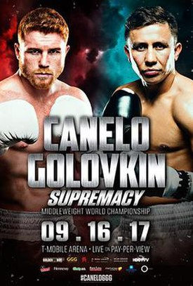 Mayweather vs McGregor  275px-Golovkin-Canelo_fight_poster