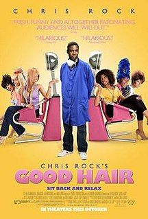 <i>Good Hair</i> 2009 American comedy documentary film directed by Jeff Stilson
