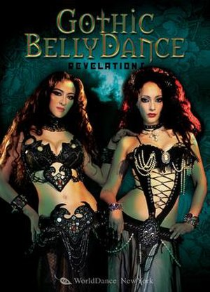 Gothic belly dance - The cover of Gothic Bellydance - Revelations DVD, 2007, World Dance New York, featuring Blanca and Jeniviva