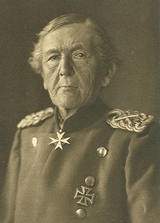 Gottlieb Graf von Haeseler - Gottlieb Graf von Haeseler in 1910