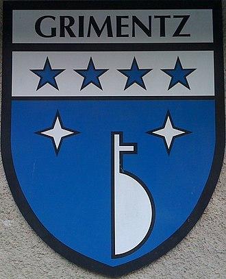 Grimentz - Image: Grimentz, Arms of