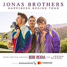 Nick Jonas Tour 2020 Happiness Begins Tour   Wikipedia