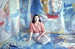 Helen Frankenthaler - Frankenthaler in 1956