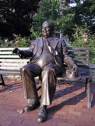 Herman B Wells - Herman B Wells Plaza Indiana University