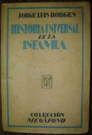 A Universal History of Infamy - First edition (1935)