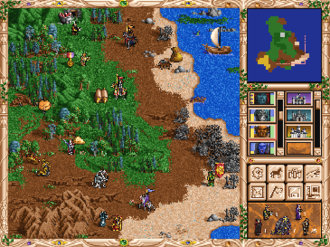 Heroes of Might and Magic - Screenshot from Heroes of Might and Magic II