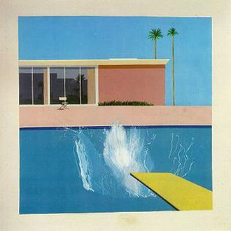 David Hockney - A Bigger Splash (1967), Tate Collection, London