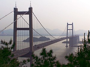 Humen Pearl River Bridge - Image: Humen Bridge Small