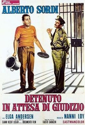 In Prison Awaiting Trial - Film poster