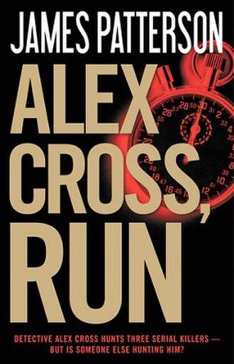 Alex Cross, Run - the book's cover