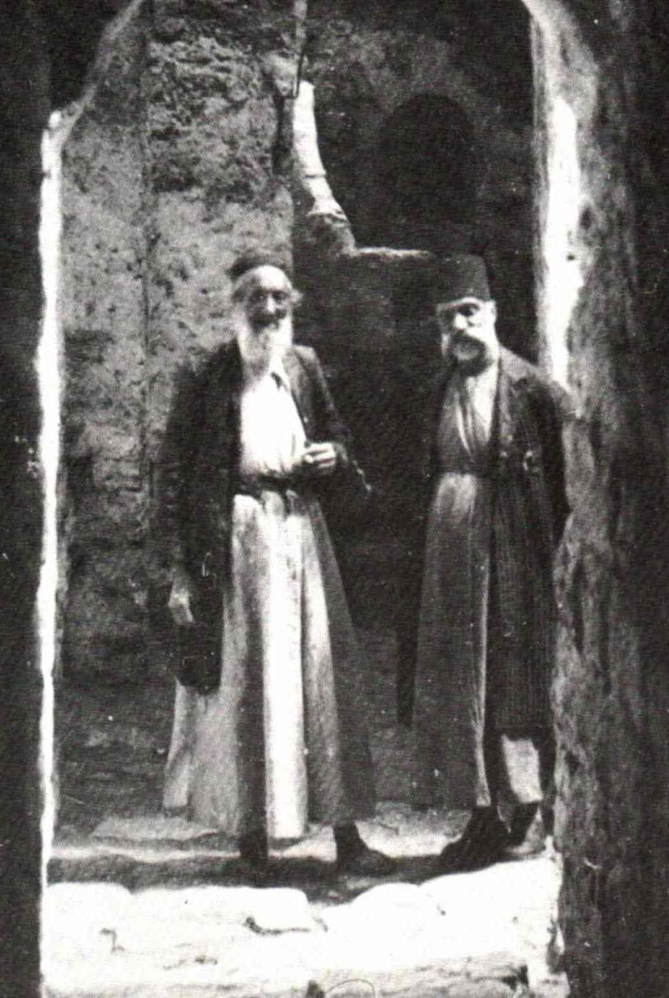 Jewish ghetto in hebron, 1921