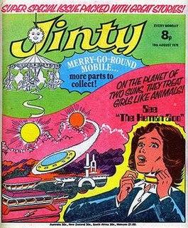 <i>Jinty</i> (comics) British comic published 1974–1981