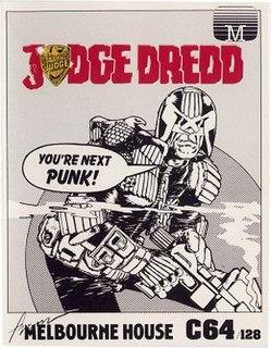 <i>Judge Dredd</i> (1986 video game)