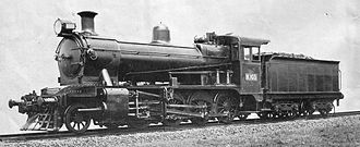 Victorian Railways K class - VR photo of K 103 as built, 1922