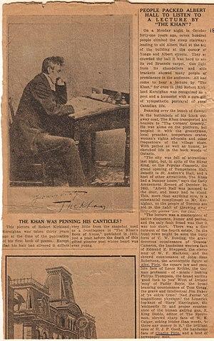 Robert Kirkland Kernighan - The Khan Speaks in Toronto, 1885.