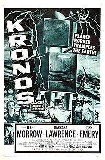<i>Kronos</i> (film) 1957 film by Kurt Neumann