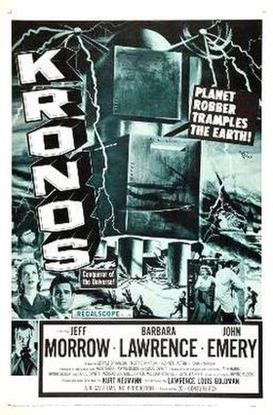 Kronos (film) - Theatrical release poster