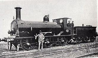 LB&SCR C class - C class No.96 in 1882