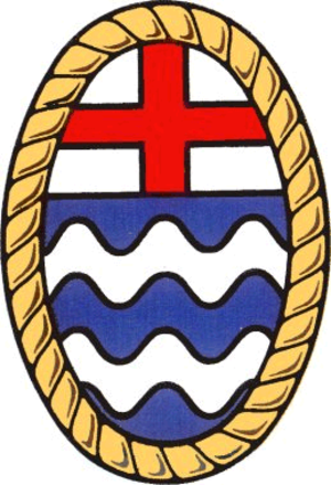 Coat of arms of London County Council - The heraldic badge of the London County Council