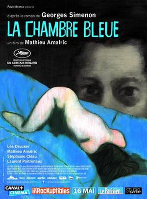 The Blue Room (2014 film) - Film poster