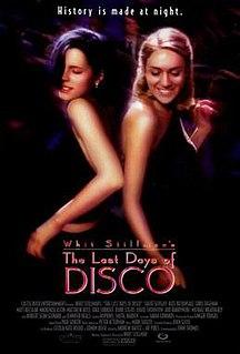 <i>The Last Days of Disco</i> 1998 film by Whit Stillman