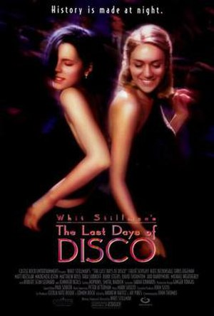 The Last Days of Disco - Theatrical release poster