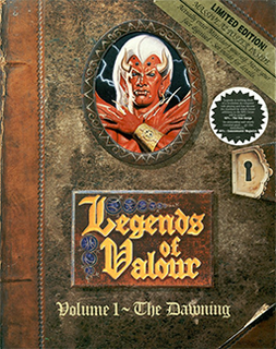 <i>Legends of Valour</i> 1992 video game
