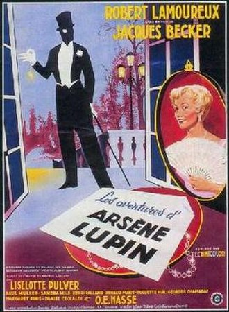 The Adventures of Arsène Lupin - Theatrical release poster