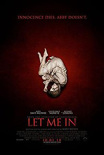 <i>Let Me In</i> (film) 2010 American-British horror film