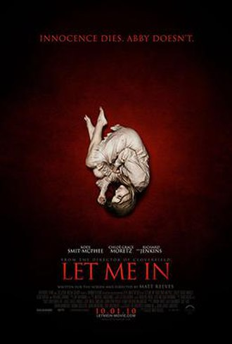 Let Me In (film) - Theatrical release poster
