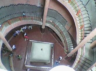 Kudalasangama - Iykya linga seen from above.