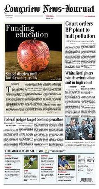 Longview News-Journal - Image: Longview news journal
