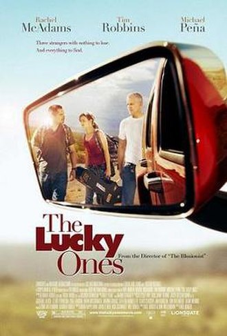 The Lucky Ones (film) - Theatrical release poster