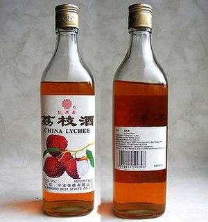 Lychee wine - Lychee wine