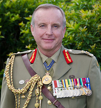 John Cantwell (general) - Major General John Cantwell on 25 April 2012