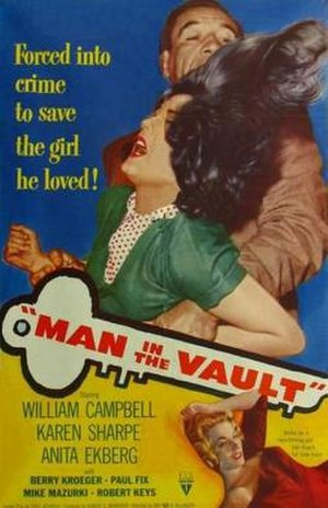 Man in the Vault - Film poster