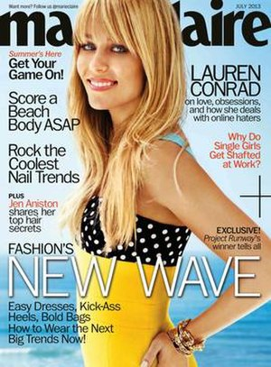 Marie Claire - Lauren Conrad on the July 2013 cover