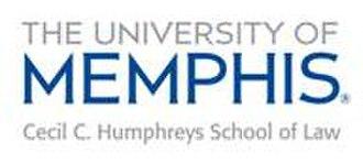 Cecil C. Humphreys School of Law - Image: Memphis Law School Logo