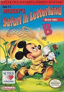 mickey s safari in letterland wikipedia