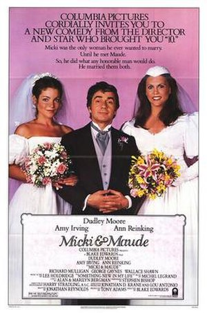 Micki & Maude - Theatrical release poster