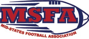 Mid-States Football Association - Image: Mid States Football Association logo