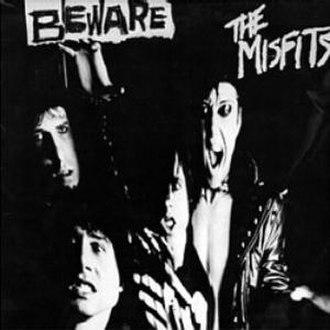 Beware (EP) - Image: Misfits Beware cover