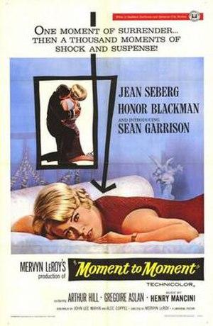 Moment to Moment - Image: Moment to Moment Film Poster