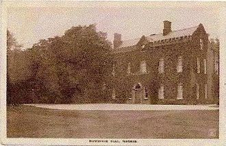 George Leo Haydock - Mowbreck Hall (Destroyed by fire in the 1960s)