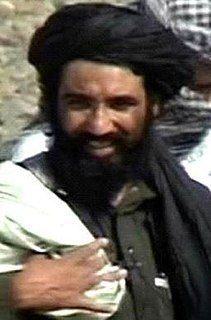 Mansoor Dadullah former senior military commander of the Taliban