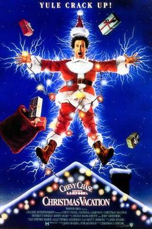 National Lampoon's Christmas Vacation - Theatrical release poster