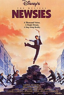 <i>Newsies</i> 1992 musical film directed by Kenny Ortega