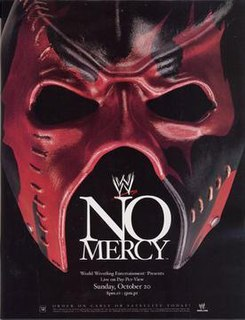 No Mercy (2002) 2002 World Wrestling Entertainment pay-per-view event