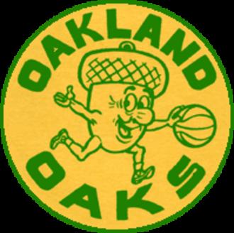 Oakland Oaks (ABA) - Image: Oakland Oaks